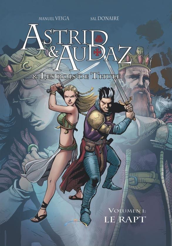 Couverture de Astrid & Audaz et les rois de Thulé -1- Le Rapt