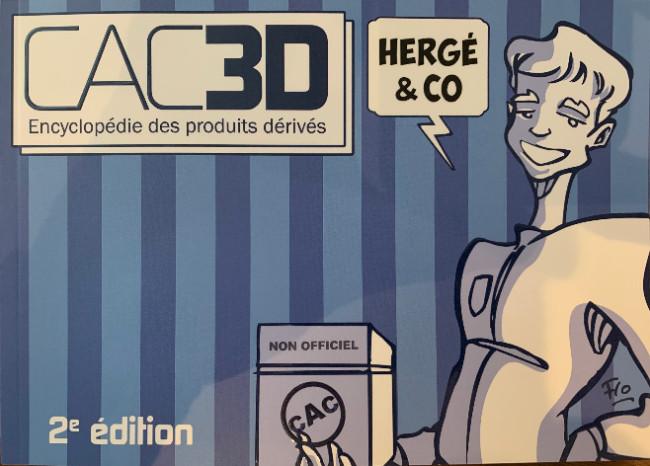 Couverture de (DOC) CAC3D -21- Cac3d Hergé & Co
