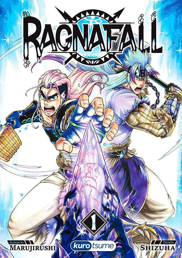Couverture de Ragnafall -1- Le Minerald brisé