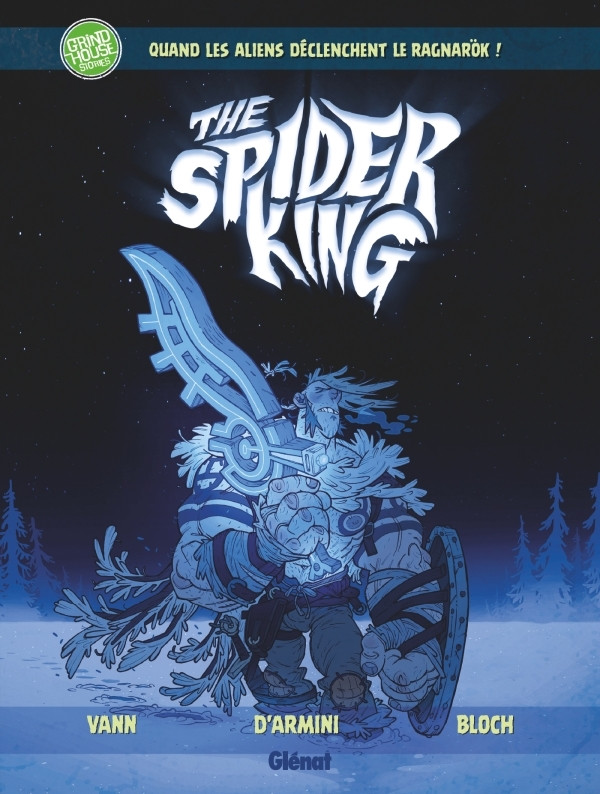 Couverture de Spider King