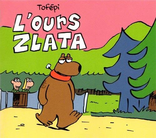 Couverture de Mini-récits et stripbooks Spirou -MR4269- L'Ours Zlata