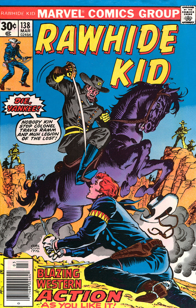 Couverture de Rawhide Kid Vol.1 (Atlas/Marvel - 1955) -138- (sans titre)