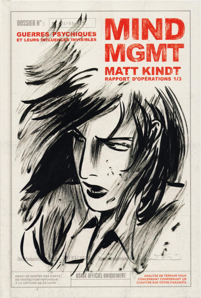 Couverture de Mind MGMT -1- Guerres psychiques et leurs influences invisibles - Rapport d'opérations 1/3