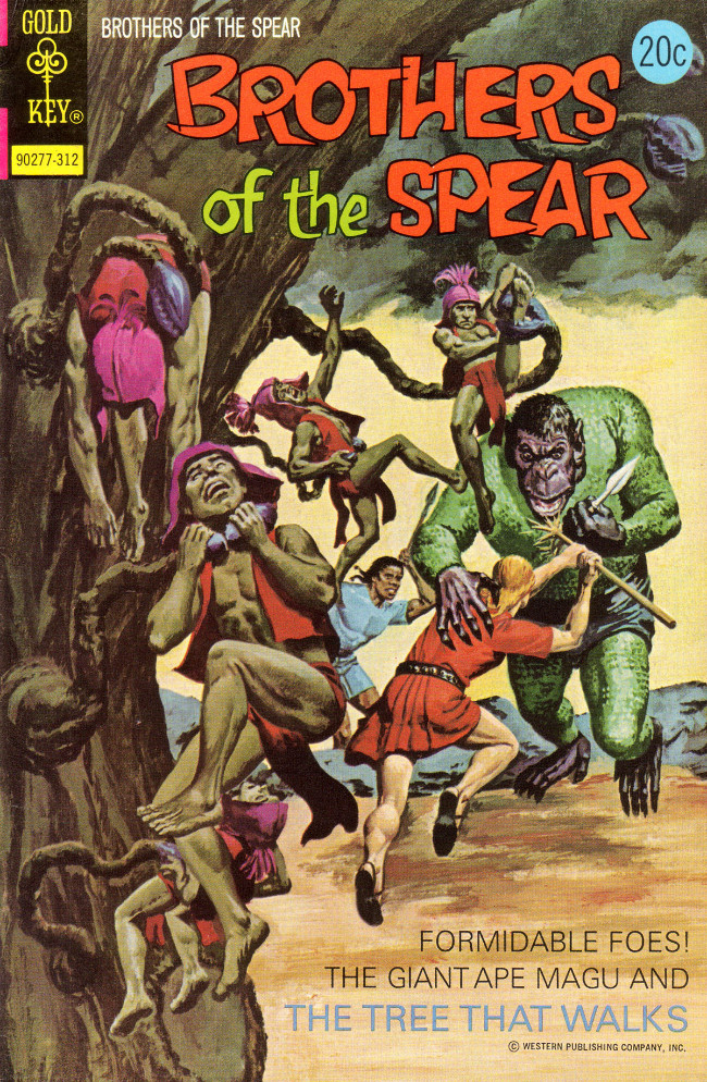 Couverture de Brothers of the Spear (Gold Key - 1972) -7- The Tree That Walks