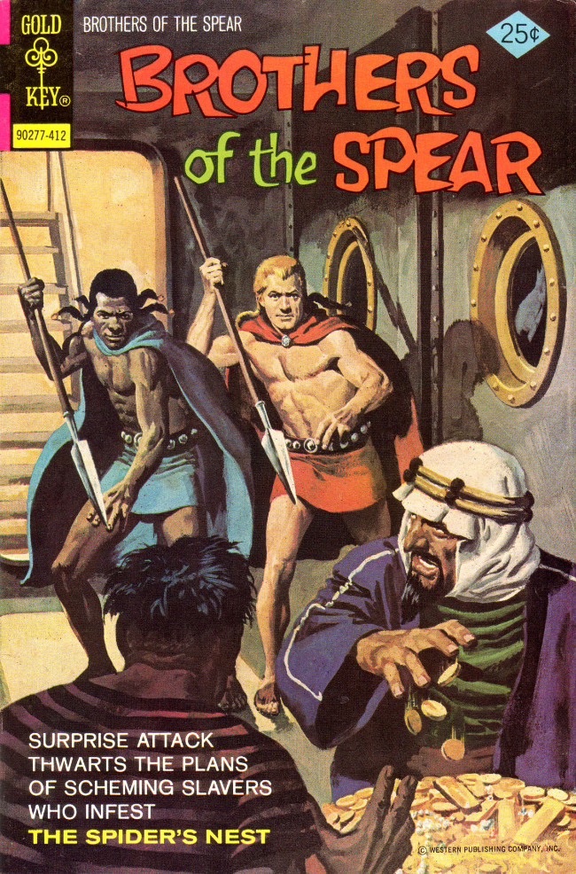 Couverture de Brothers of the Spear (Gold Key - 1972) -11- The Spider's Nest