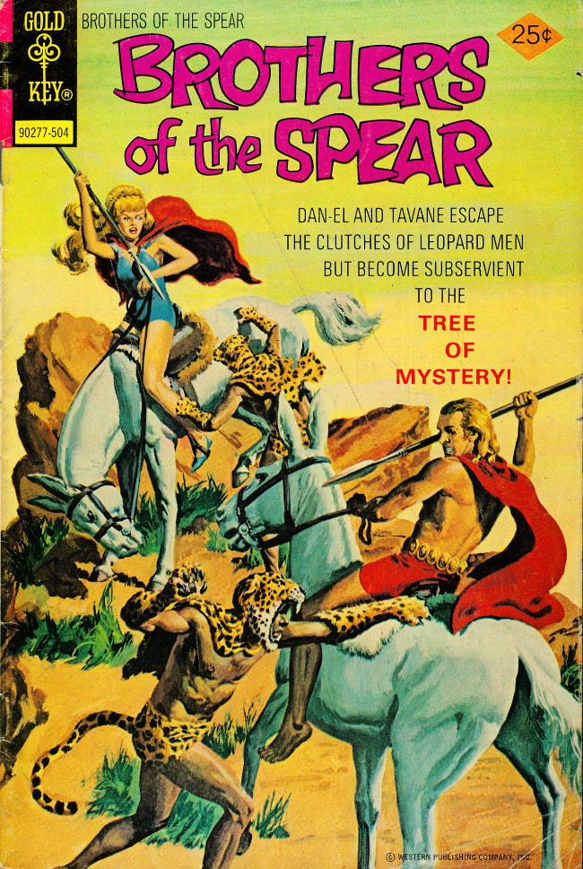 Couverture de Brothers of the Spear (Gold Key - 1972) -13- Tree of Mystery!