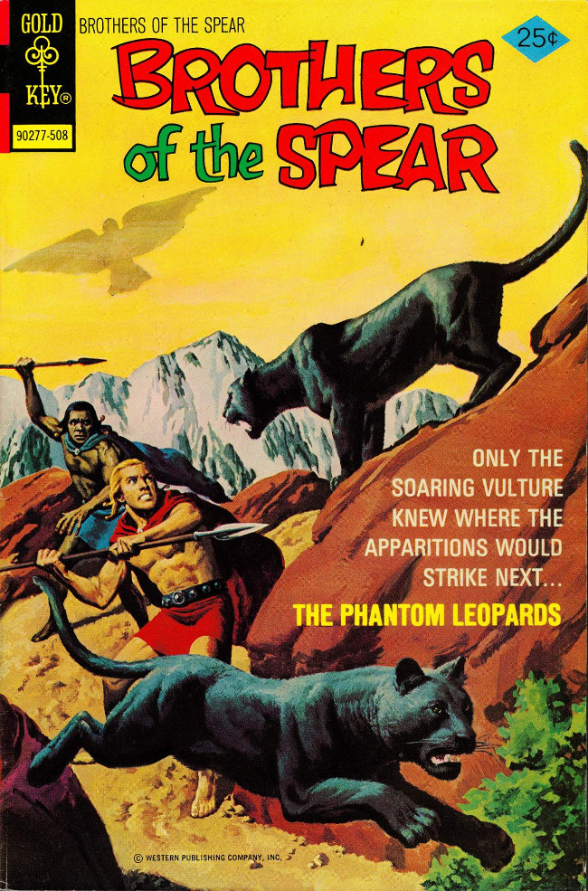 Couverture de Brothers of the Spear (Gold Key - 1972) -15- The Phantom Leopards