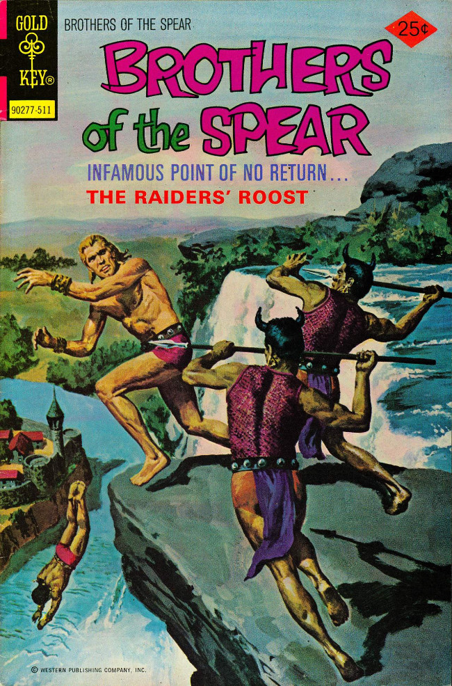 Couverture de Brothers of the Spear (Gold Key - 1972) -16- The Raiders' Roost