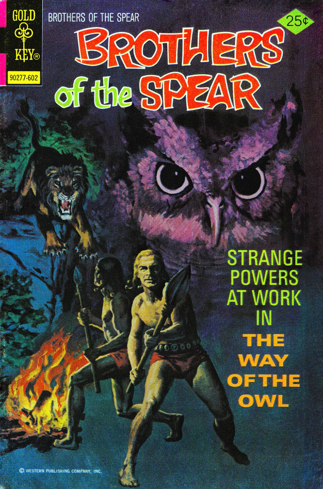 Couverture de Brothers of the Spear (Gold Key - 1972) -17- The Way of the Owl