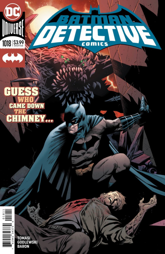 Couverture de Detective Comics (1937), période Rebirth (2016) -1018- Death of Winter - Part 1