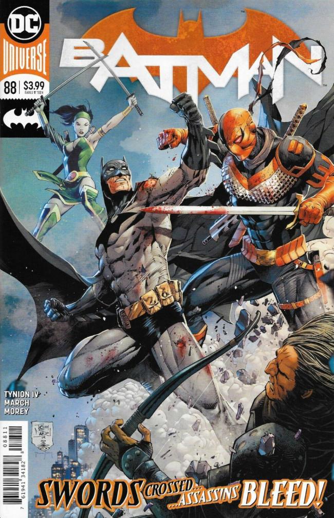 Couverture de Batman (DC Comics - 2016) -88- Their Dark Designs, Part Three