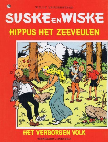 Couverture de Suske en Wiske -193- Hippus het zeeveulen / Het verborgen volk