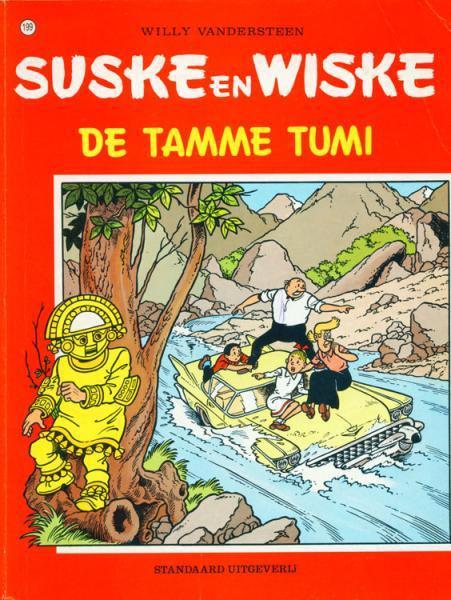Couverture de Suske en Wiske -199- De tamme Tumi