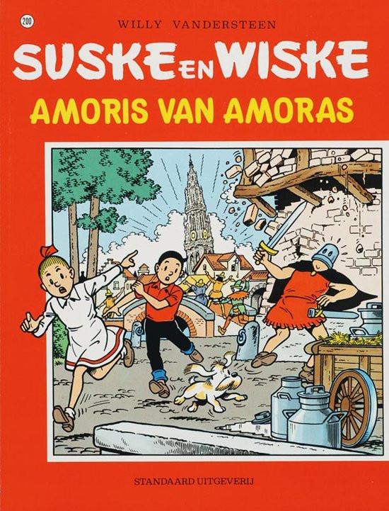 Couverture de Suske en Wiske -200- Amoris van Amoras