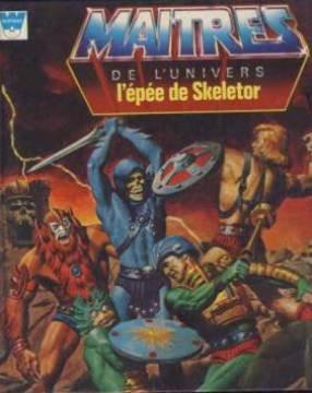 Couverture de Maîtres de l'univers (Whitman-France) -4- L' épée de Skeletor