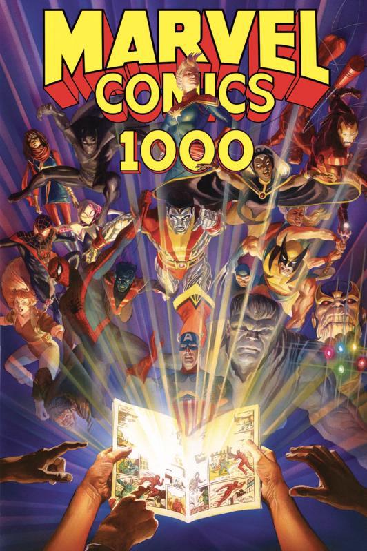 Couverture de Marvel Comics 1000