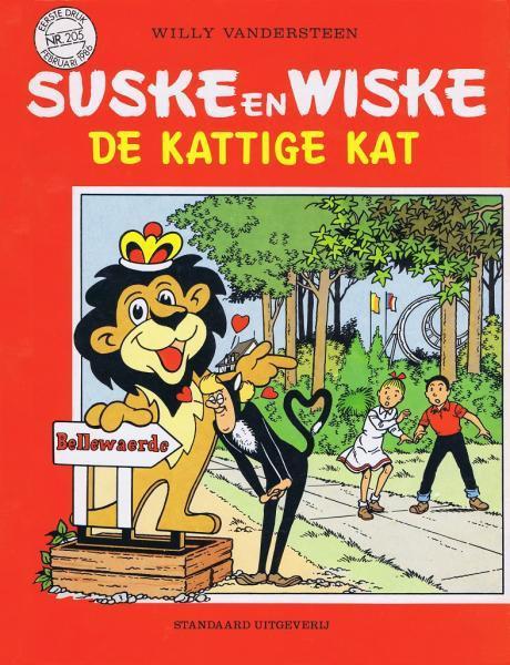 Couverture de Suske en Wiske -205- De kattige kat