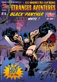Couverture de Étranges aventures (3e Série - Organic Comix) -4- Black Panther Black & White