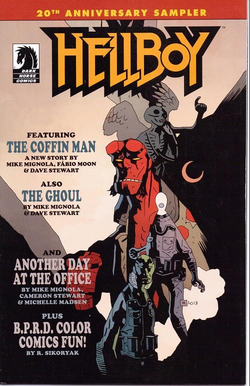 Couverture de Hellboy (Dark Horse France) -HS- 20th anniversary sampler