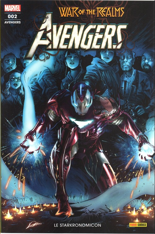 Couverture de Avengers (Marvel France - 2020) -2- Le starkronomicon