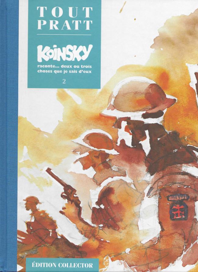 Couverture de Tout Pratt (collection Altaya) -30- Koinsky raconte... deux ou trois choses que je sais d'eux 2