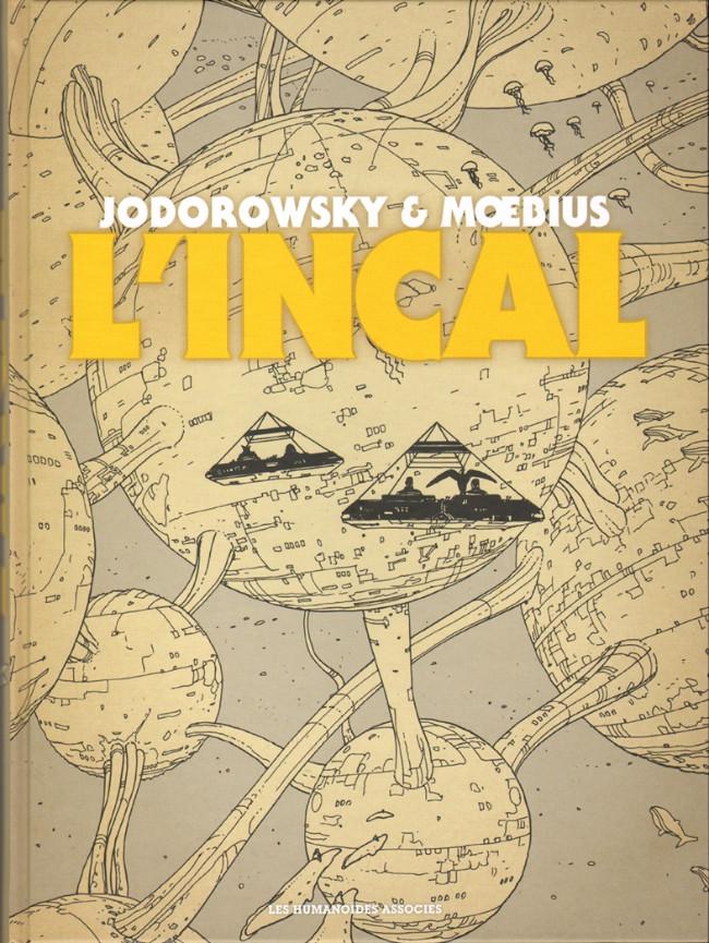 Couverture de L'incal - Une aventure de John Difool -INT- Intégrale noir et blanc