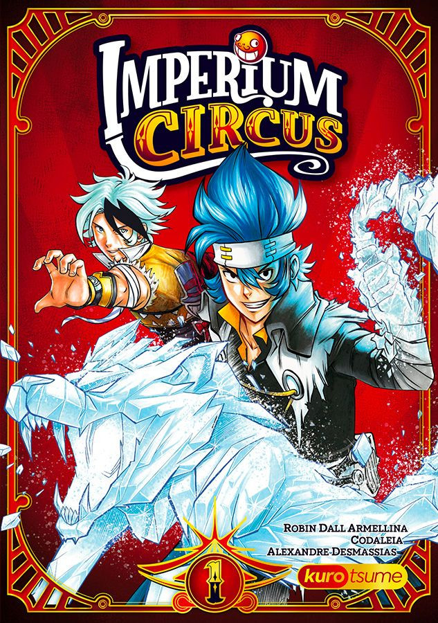 Couverture de Imperium Circus -1- Le cirque du chapelier