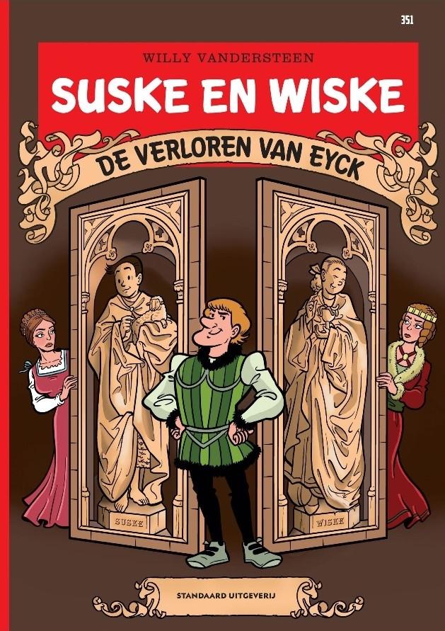 Couverture de Suske en Wiske -351- De verloren Van Eyck