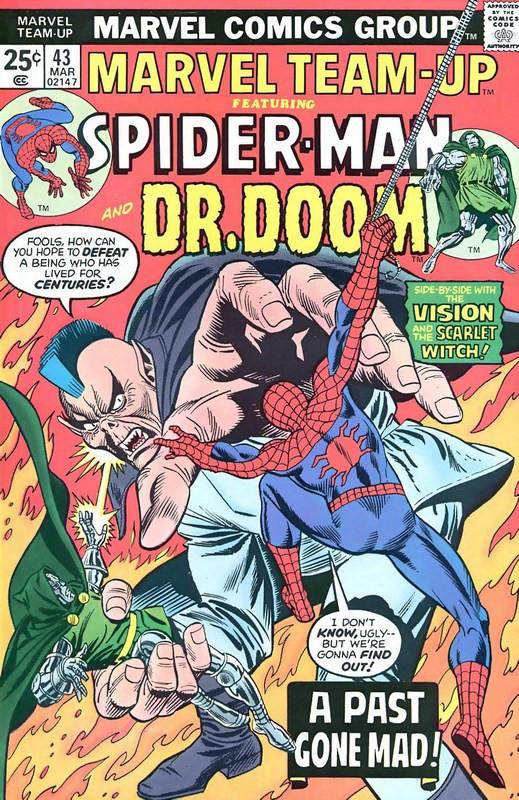 Couverture de Marvel Team-Up Vol.1 (Marvel comics - 1972) -43- A Past Gone Mad!