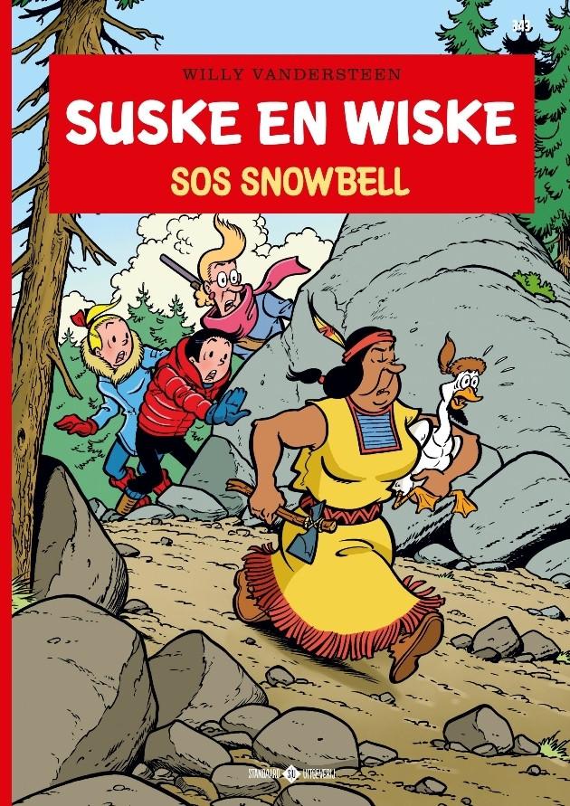 Couverture de Suske en Wiske -343- SOS Snowbell