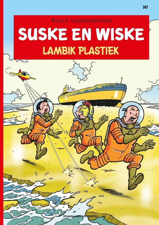 Couverture de Suske en Wiske -347- Lambik Plastiek