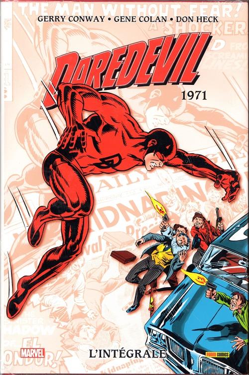 Couverture de Daredevil (L'intégrale) -10- Daredevil : l'intégrale 1971