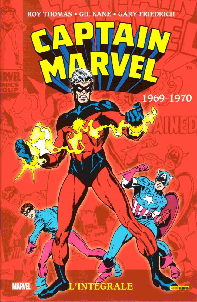 Couverture de Captain Marvel (L'intégrale) -2- L'intégrale 1969-1970
