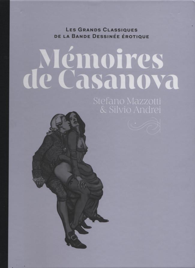 Couverture de Les grands Classiques de la Bande Dessinée érotique - La Collection -98103- Mémoires de Casanova
