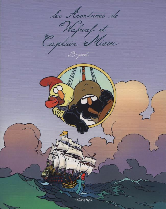 Couverture de Wafwaf & Captain Miaou -INT- Les Aventures de Wafwaf et Captain Miaou