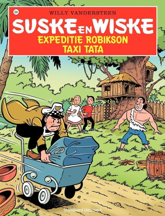 Couverture de Suske en Wiske -334- Expeditie Robikson - Taxi Tata