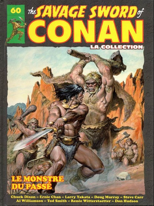 Couverture de Savage Sword of Conan (The) - La Collection (Hachette) -60- Le monstre du passé