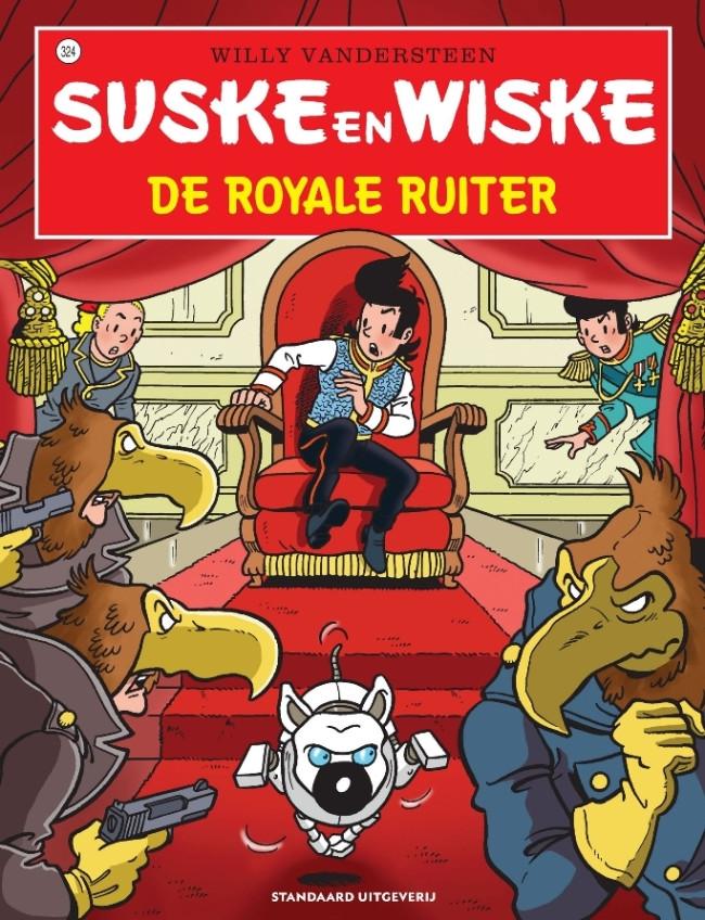 Couverture de Suske en Wiske -324- De royale ruiter