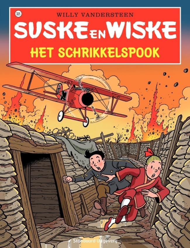 Couverture de Suske en Wiske -325- Het schrikkelspook