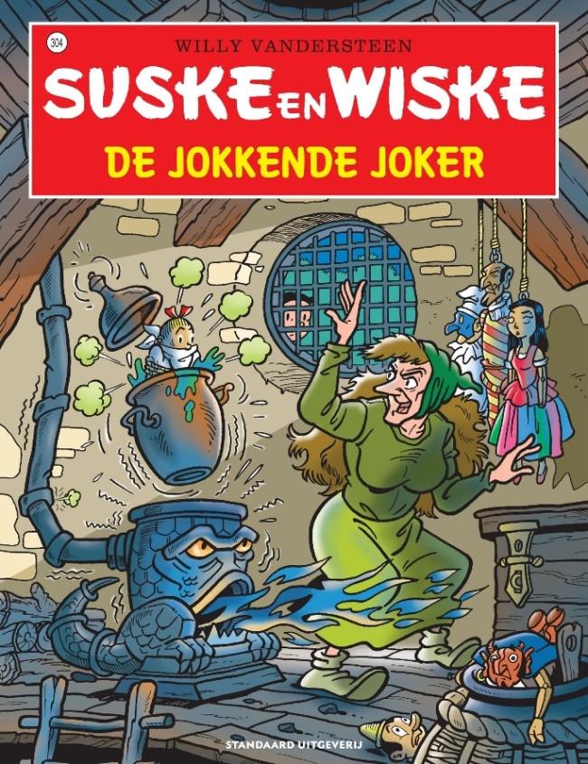 Couverture de Suske en Wiske -304- De jokkende joker