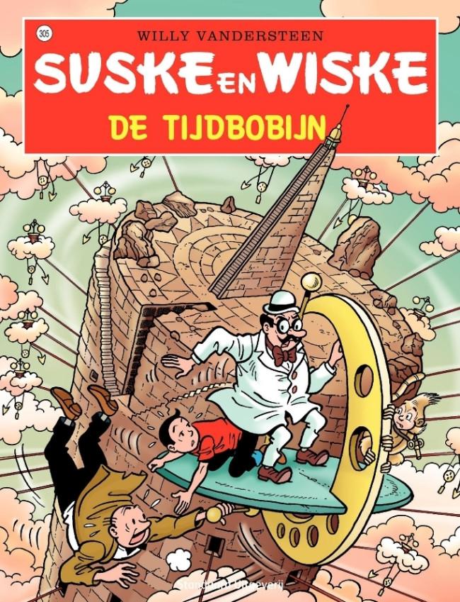 Couverture de Suske en Wiske -305- De tijdbobijn