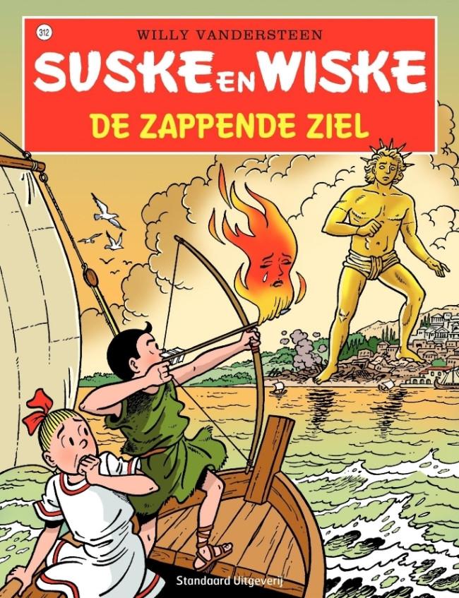 Couverture de Suske en Wiske -312- De zappende ziel