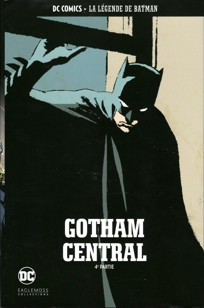 Couverture de DC Comics - La légende de Batman -HS10- Gotham Central - 4e partie
