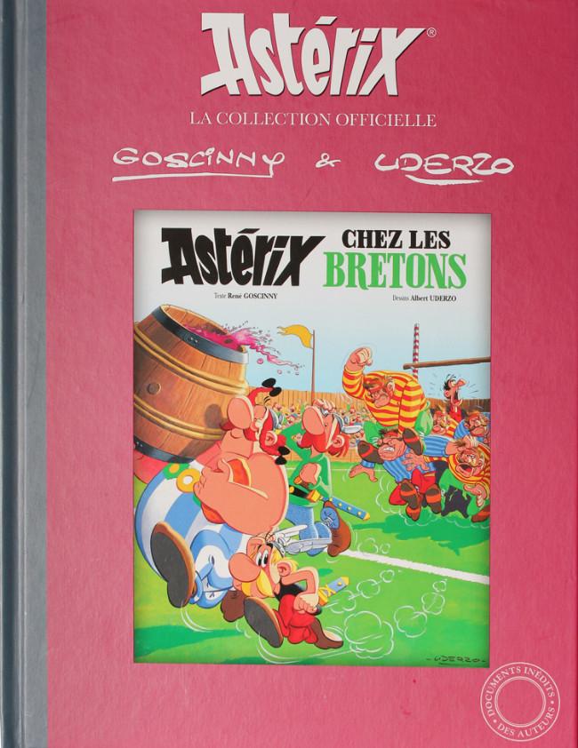 Couverture de Astérix (Hachette collections - La collection officielle) -8- Astérix chez les Bretons