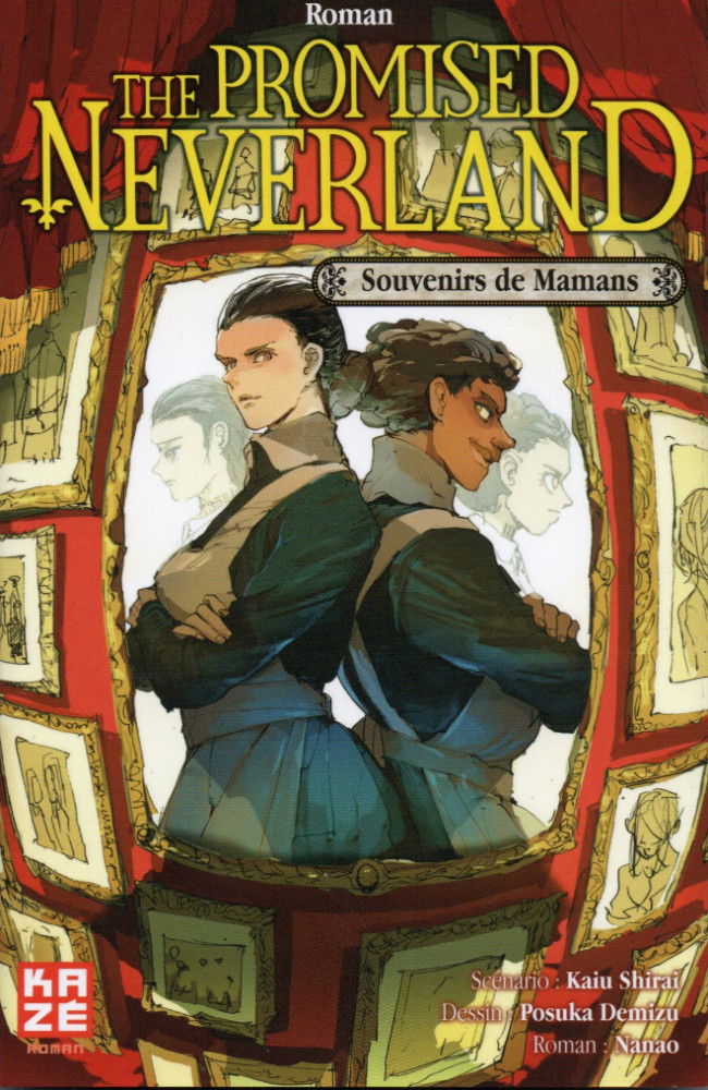 Couverture de Promised Neverland (The) -Roman2- Souvenirs de Mamans