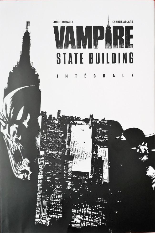 Couverture de Vampire State Building -INT- Intégrale