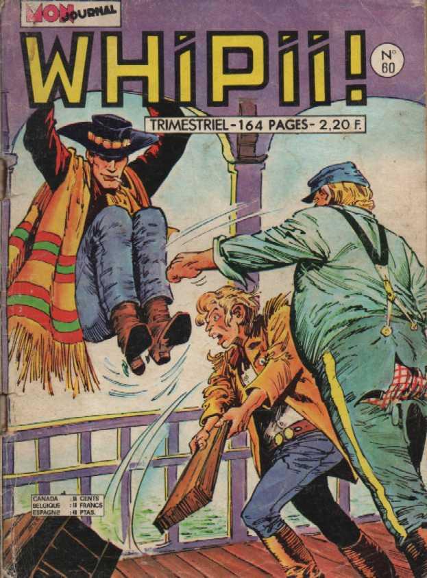Couverture de Whipii ! (Panter Black, Whipee ! puis) -60- Quelle nuit,mes enfants!
