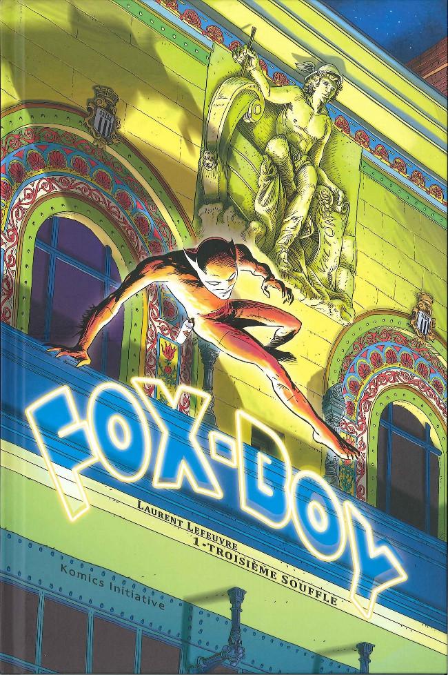 Couverture de Fox-Boy (Komics Initiative) -1- Troisième souffle