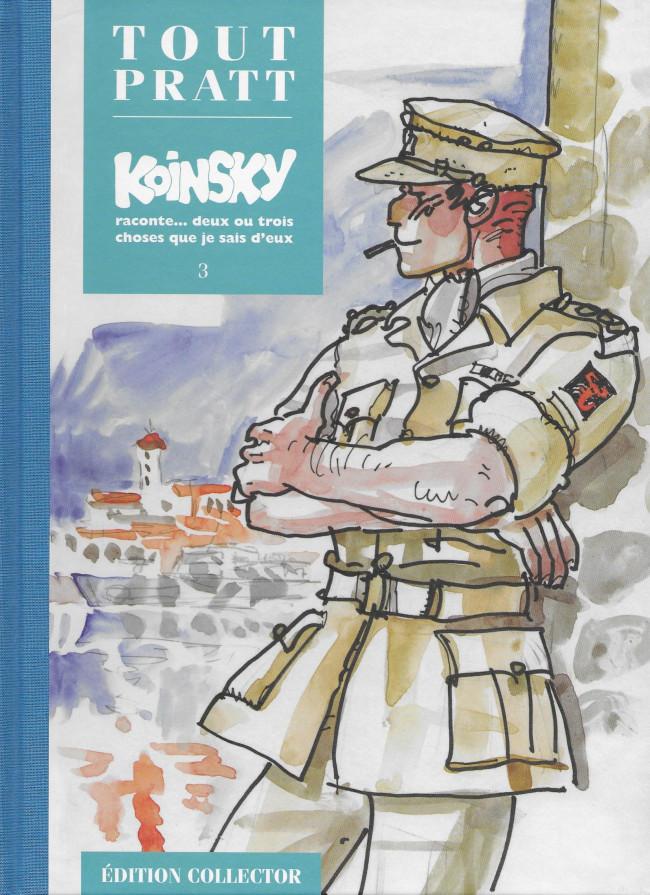 Couverture de Tout Pratt (collection Altaya) -31- Koinsky raconte... deux ou trois choses que je sais d'eux 3