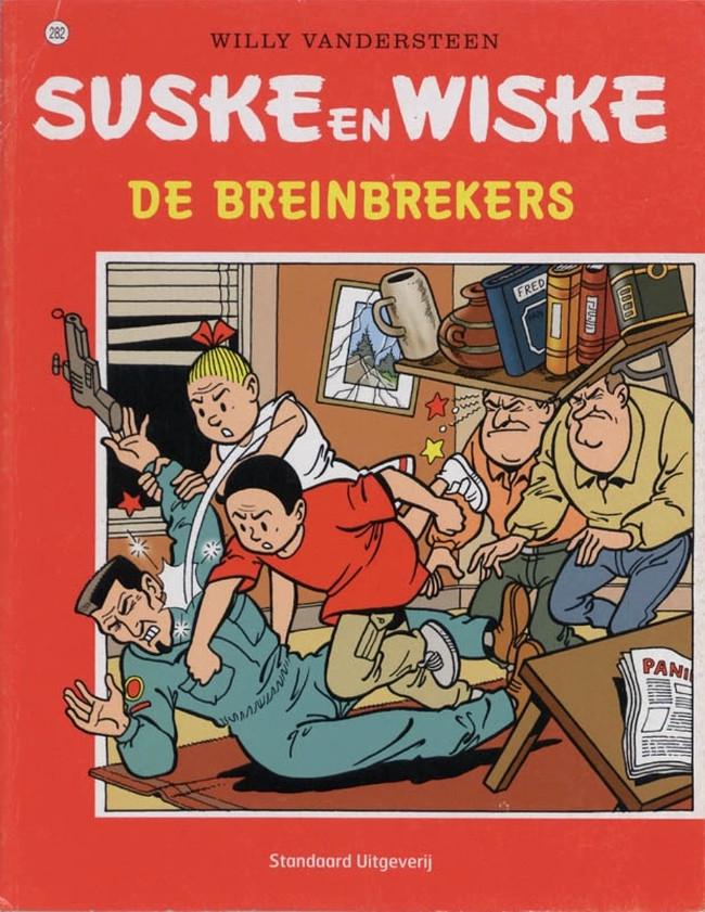 Couverture de Suske en Wiske -282- De breinbrekers
